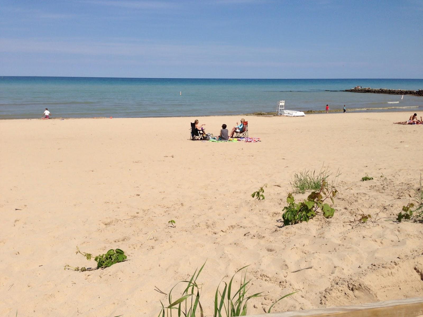 Lake Michigan Beach Parks Milwaukee Wi
