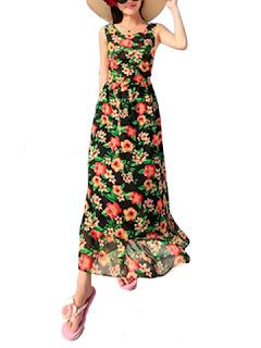 Model baju pantai wanita long dress cantik dan anggun