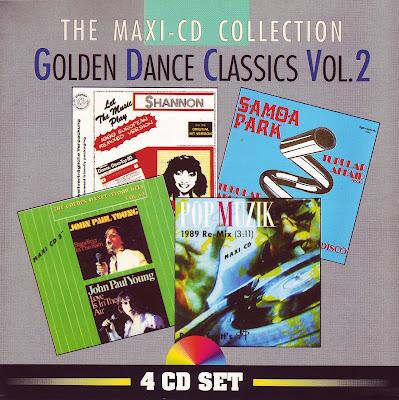 Golden Dance Classics Vol.2 - The Maxi CD Collection (Various Artists) italo disco 80\'s eurobeat classics