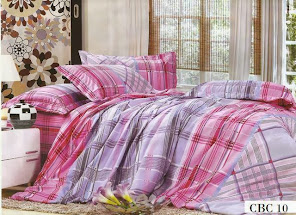 SET CADAR QUEEN + COMFORTER CBC