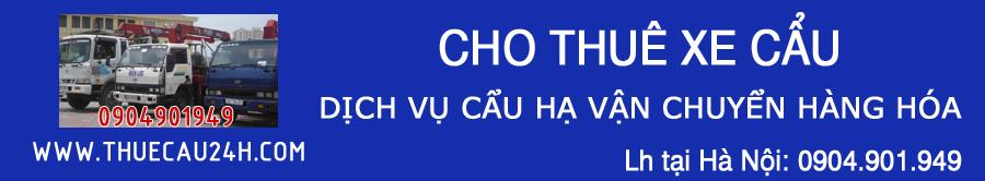 Thuê Xe Cẩu, Cho Thuê Cẩu, Cẩu Hạ Vận Chuyển 24h