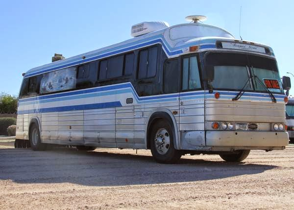 Perfect Used 1947 GREYHOUND BUS CONVERSION For Sale Motorhome In