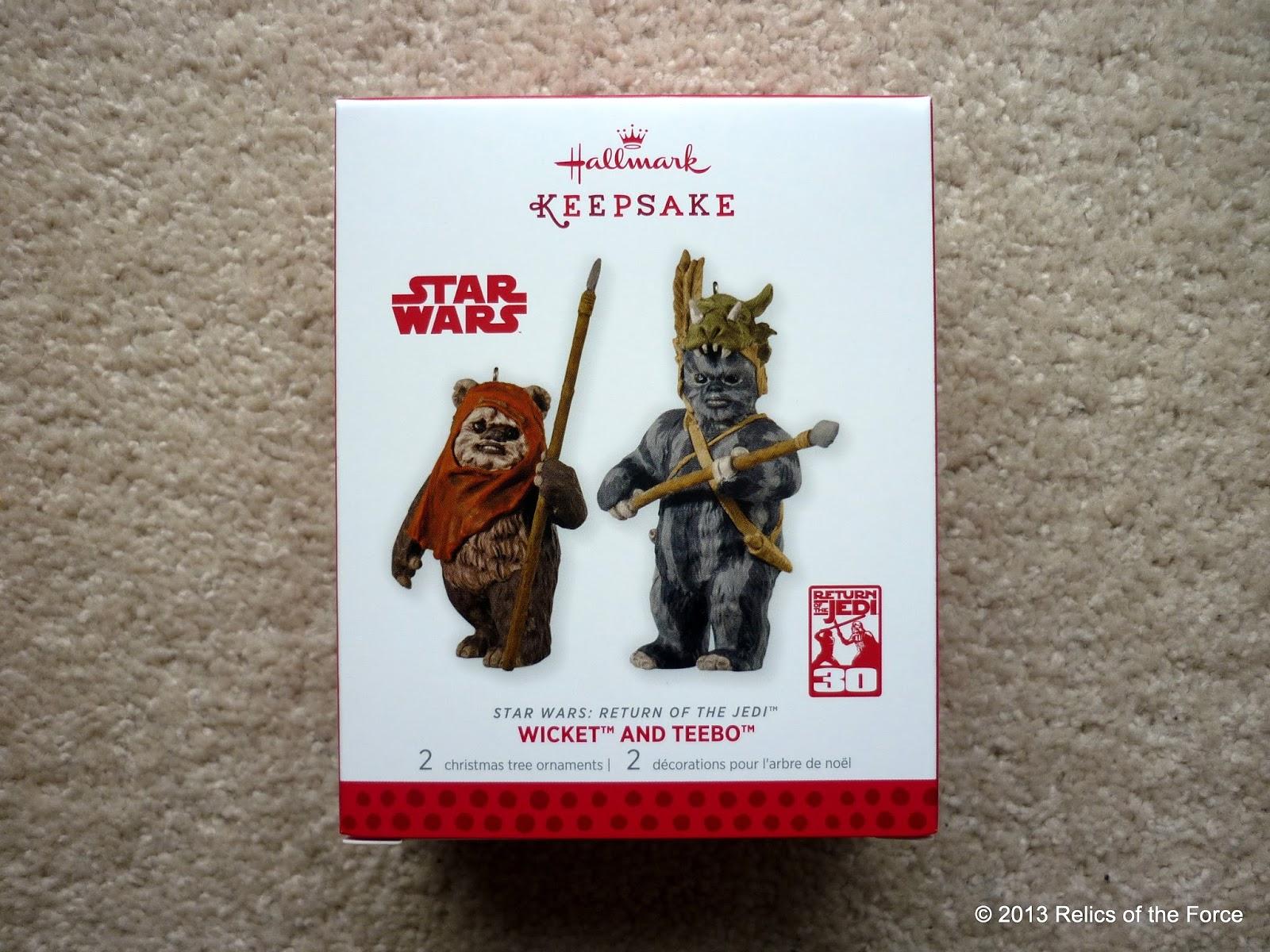 Relics Of The Force Hallmark Keepsake