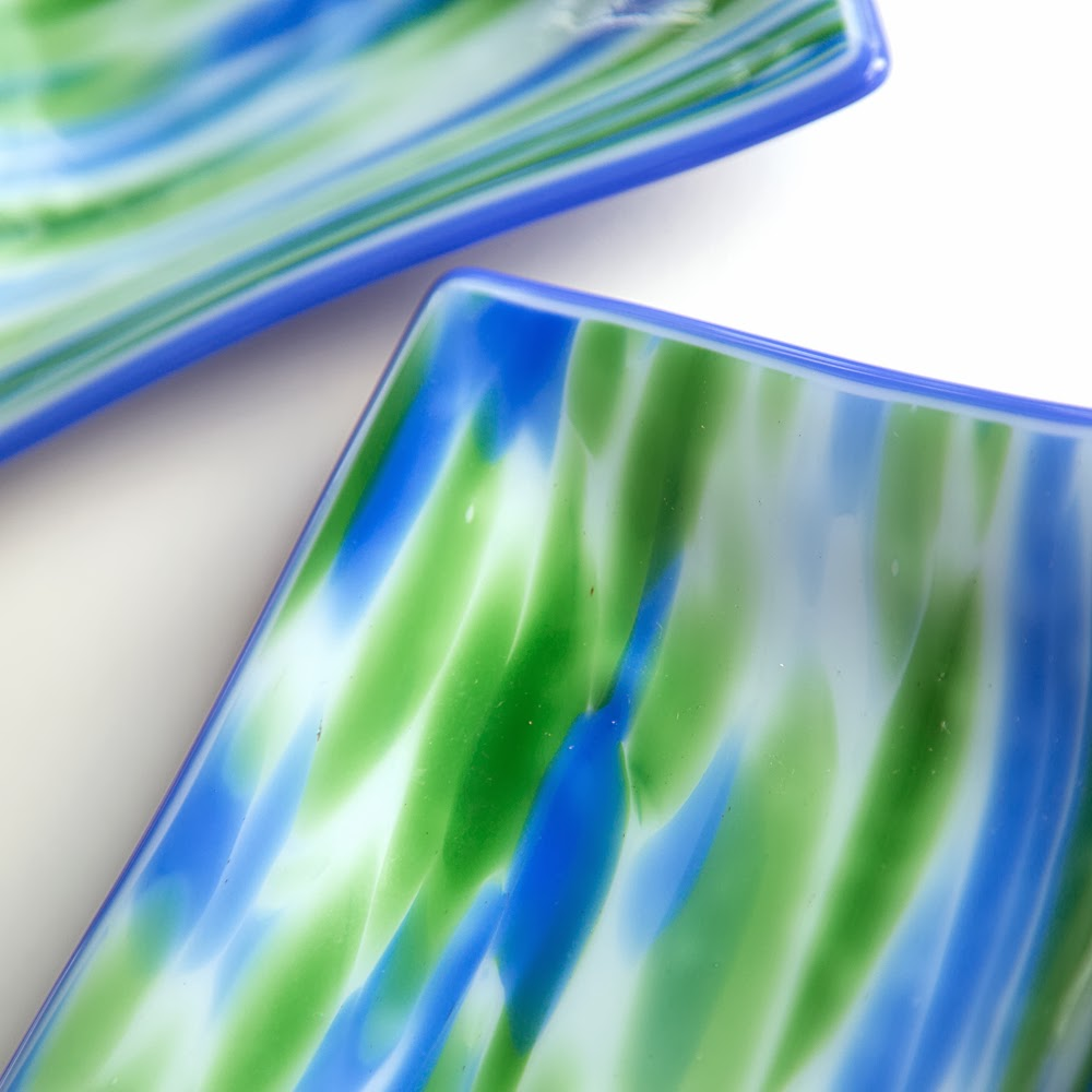 fused glass art, sassy glass studio, plate, art glass