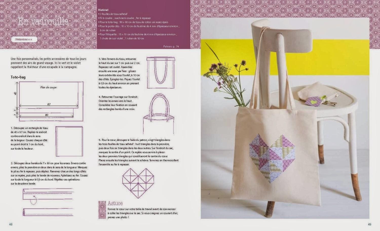 margault tote bag et tissus adh sifs. Black Bedroom Furniture Sets. Home Design Ideas