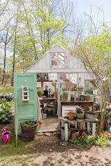 Mitt gamla växthus som numera inte finns kvar...