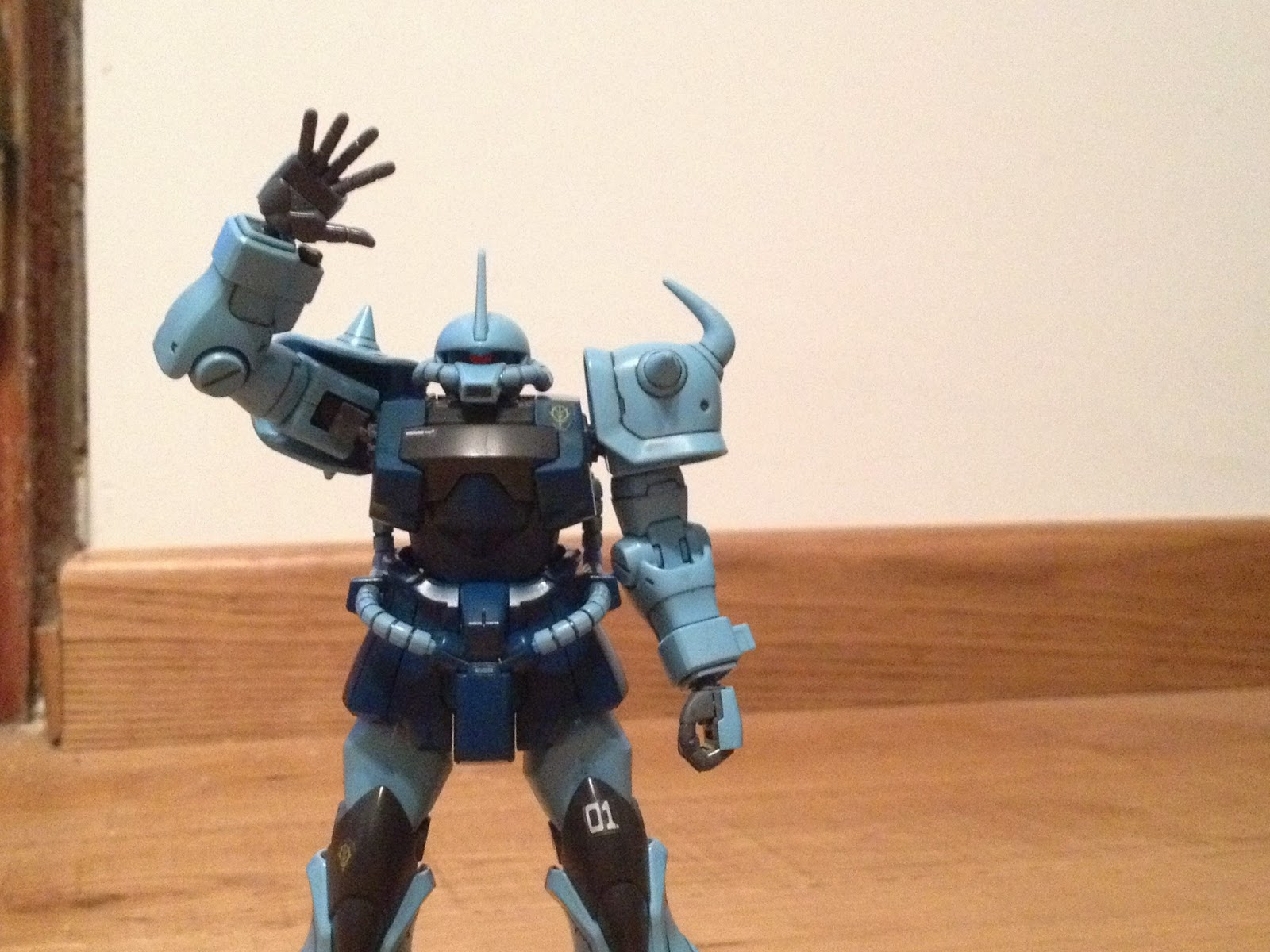 HGUC GOUF CUSTOM GUNPLA MS -07B