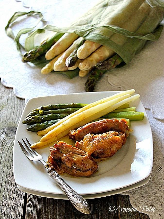 Pollo alla Fiamminga con Asparagi di Armonia Paleo
