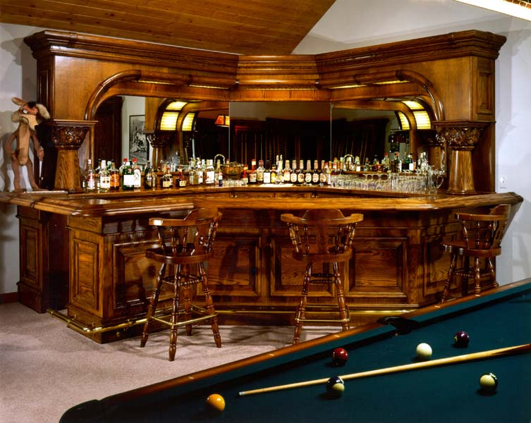 Home Bar Plans - The Most Popular Home Bar Plans Design