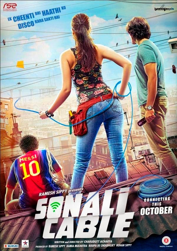 full cast and crew of bollywood movie Sonali Cable with poster, trailer ft Rhea Chakraborty, Ali Fazal and Raghav Juyal