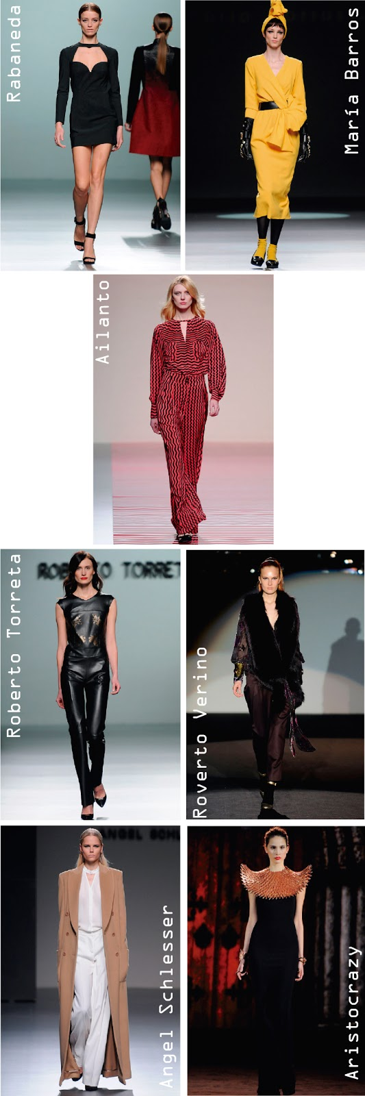 Mercedes-Benz Fashion Week Madrid, MBFWM, otoño invierno 2013,