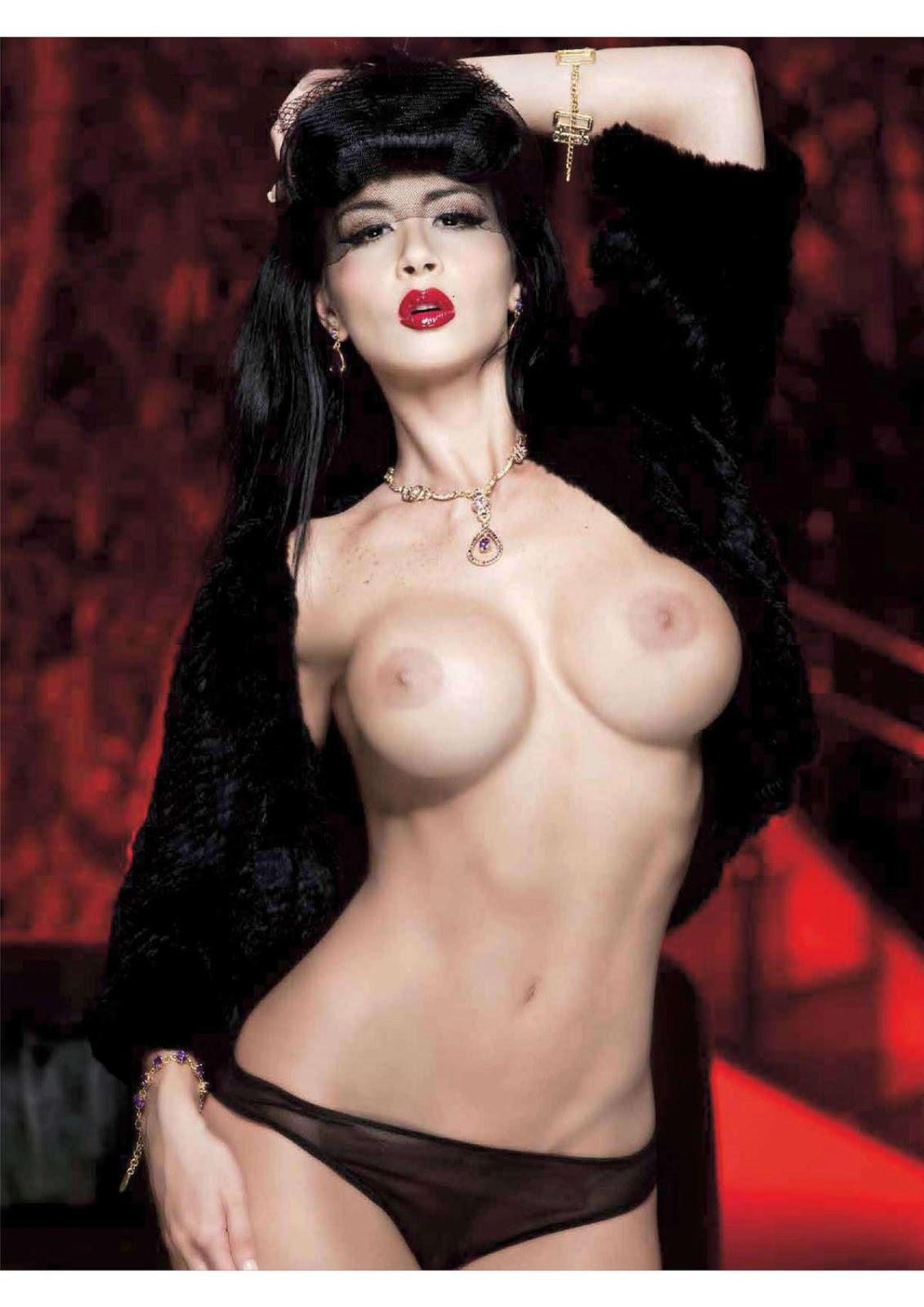 Diosa Canales En Playboy M Ico Junio