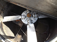 Cleaning ductwork and exhaust fans.