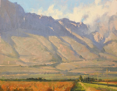 Vineyard Near Ceres - 11″x 14″ – Oil