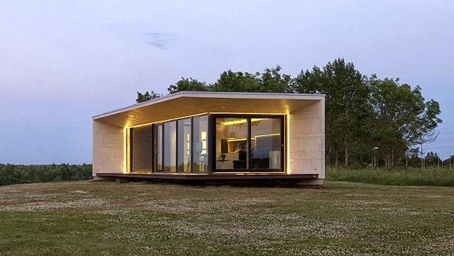 casas minimalistas y modernas minicasa modular minimalista