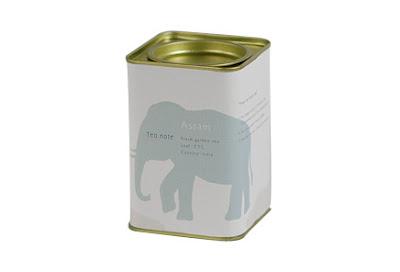Elefántos teadoboz