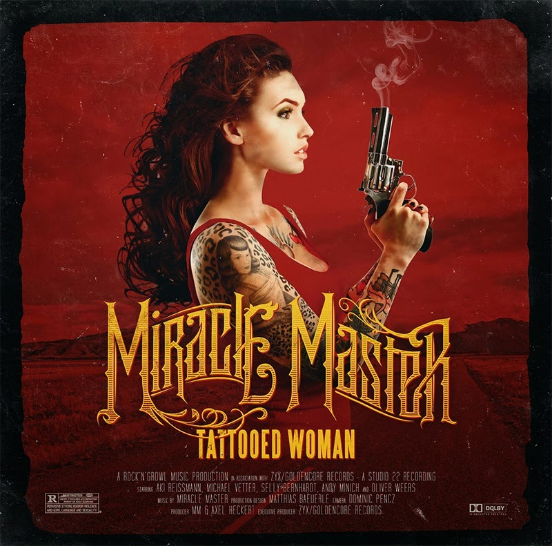 Miracle Master - Tattooed Woman - album - cover