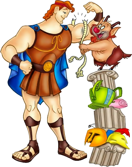 Hercules cartoon