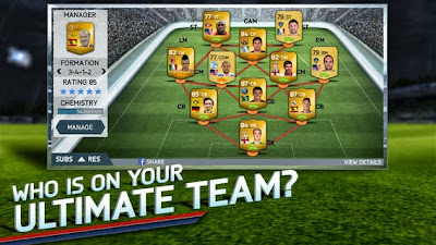 تحميل لعبة كرة القدم الحقيقية فيفا 14 للاندرويد والايفون والايباد والايبود تاتش مجاناً FIFA 14 by EA SPORTS™ 1-2-9-IPA-APK