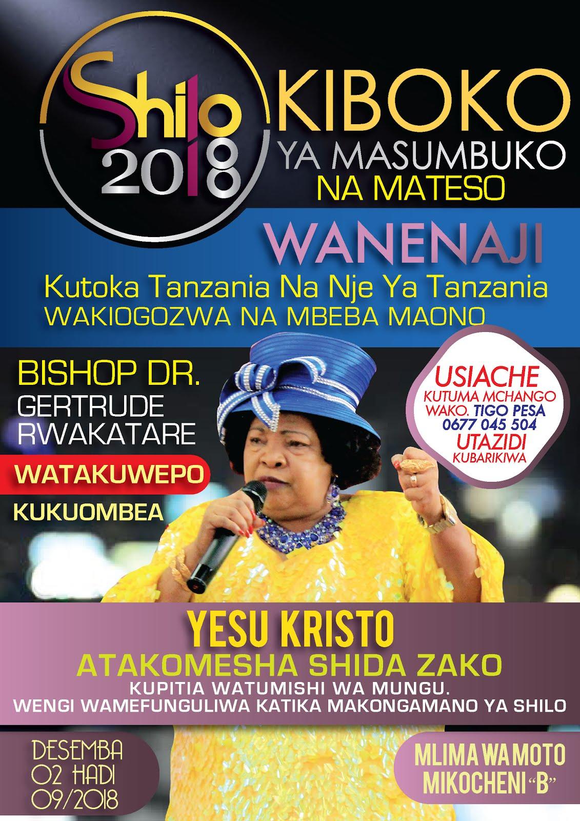 SHILO TANZANIA 2018