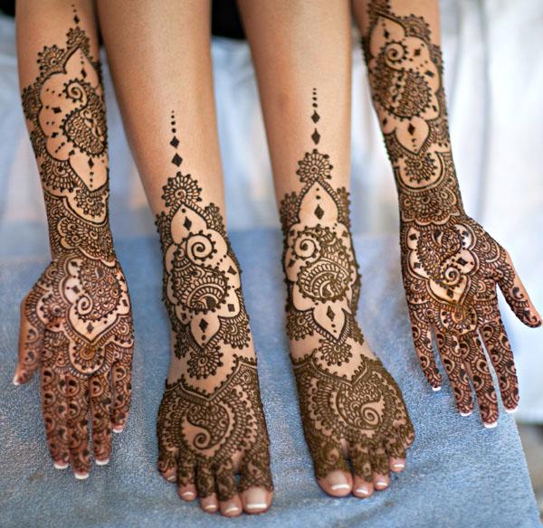 Mehndi Designs Bridal : Mehndi bridal designs