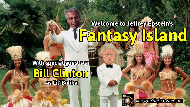 Jeffery Epstein, Bill Clinton, Island