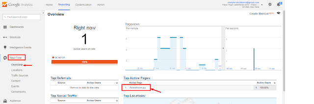 how to show unique users in behaviour section google analytics