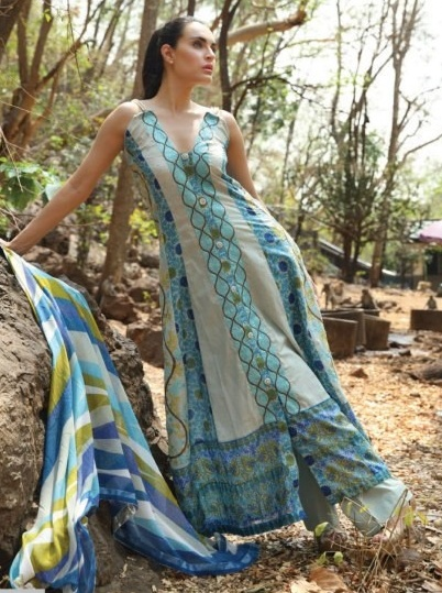NadiaHussainLawnCollection28329 - Nadia Hussain Lawn 2013 Magazine by Shariq Textiles