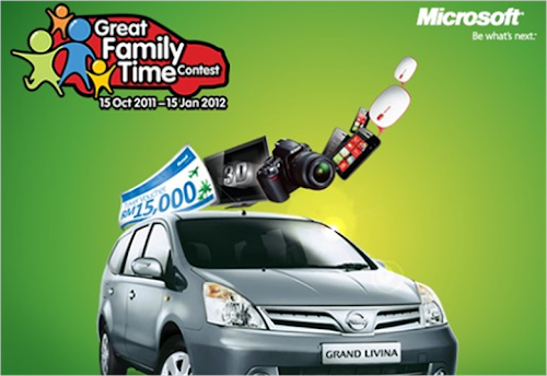 Microsoft 'Great Family Time' Contest