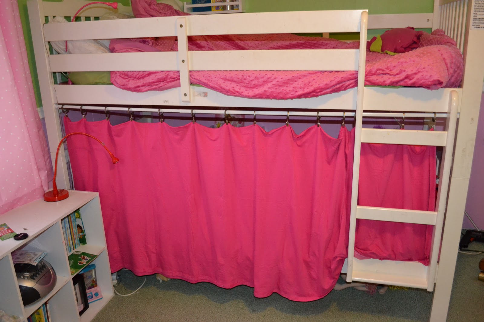 Privacy Tent Bottom Bunk Bed