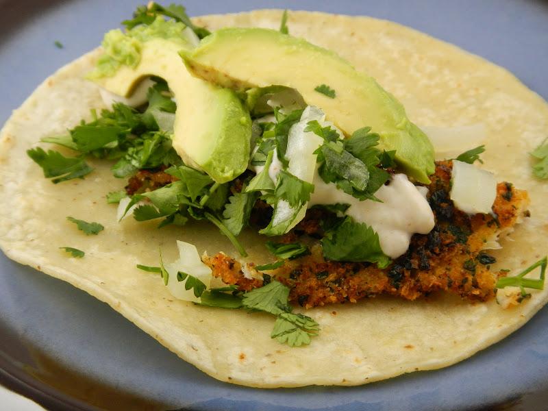 liz 39 s livelihood cilantro breaded tilapia fish tacos
