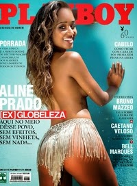 Revista Playboy - Aline Prado