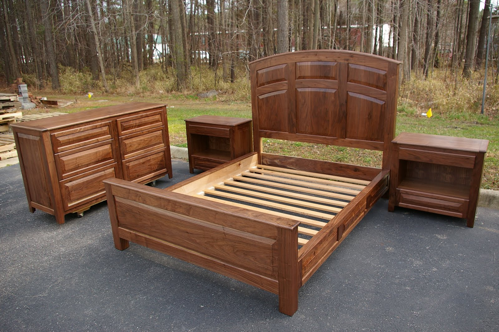 Walnut Wood Furniture ~ Rose wood furniture walnut bedroom