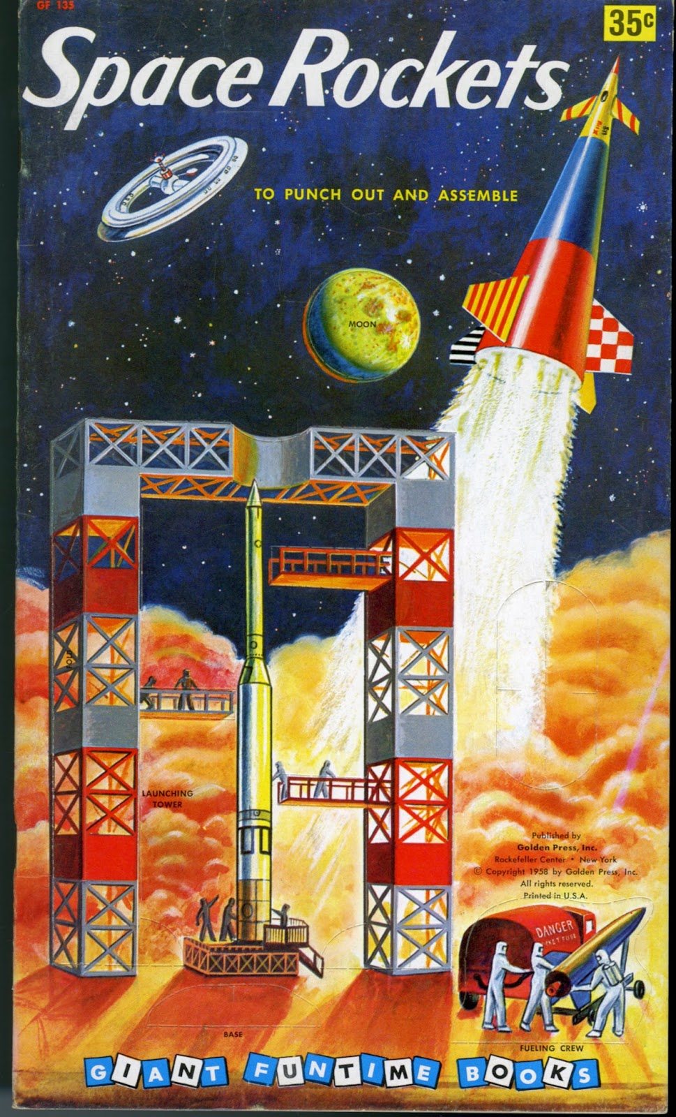 space rocket book - photo #16