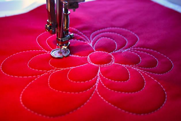 Trossets patchwork monogr fico acolchado a m quina - Acolchados en patchwork ...