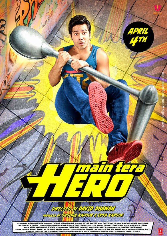 Main Tera Hero First Look Poster