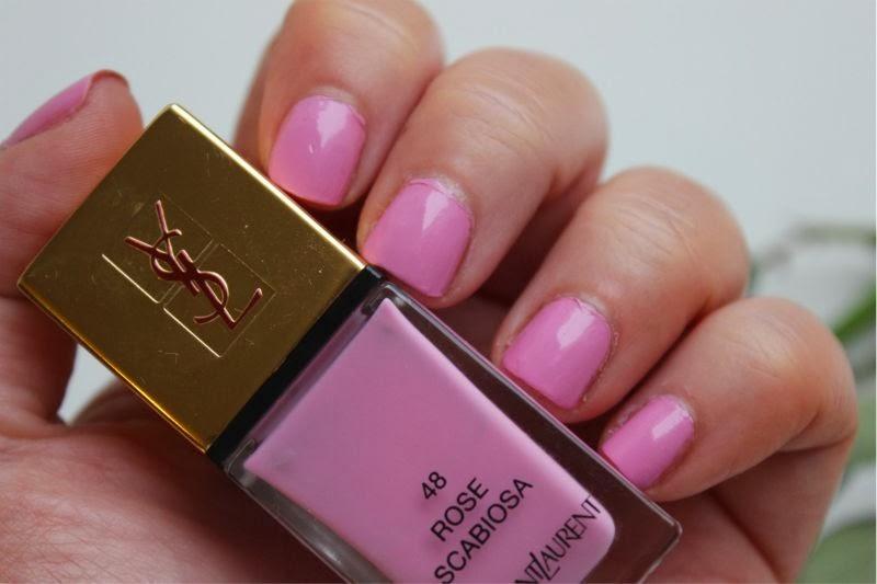 YSL Rose Scabiosa La Laque Couture Nail Lacquer