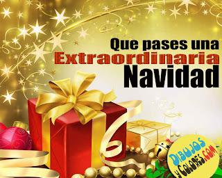 Que  pases una extraordinaria navidad