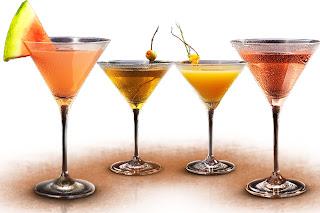 tequila en martinis