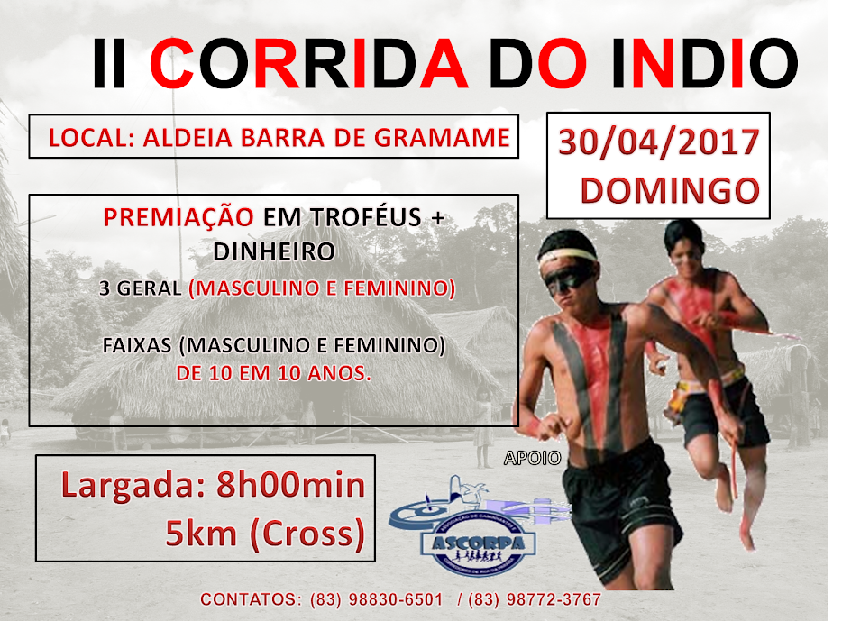 II CORRIDA DO INDIO