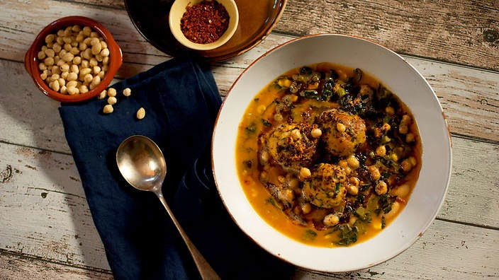 Chicken Cornbread Dumpling Soup Recipe