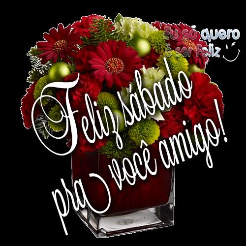 Feliz sábado Pra você amigo!
