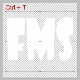 teks effect gambar di dalam teks
