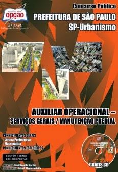 Apostilas e Concursos: <b>Concurso</b> Público <b>São Paulo</b> Urbanismo - <b>SP</b> <b>...</b> 2014