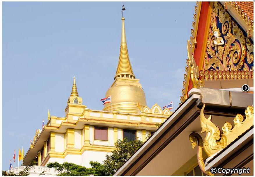 for sharing knowledge: Temple of The Golden Mount - Wat Saket - Bangkok - Tha...