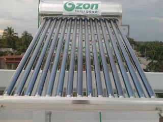 sửa chữa máy nước nóng năng lượng mặt trơi megasun