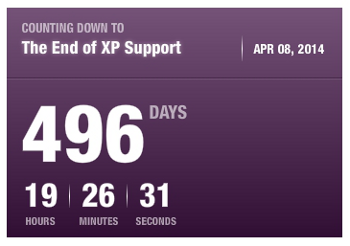 Tahun 2014 Support Windows XP Berakhir