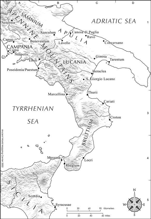 350 a.c. : Las guerras Samnitas. (1ª parte )
