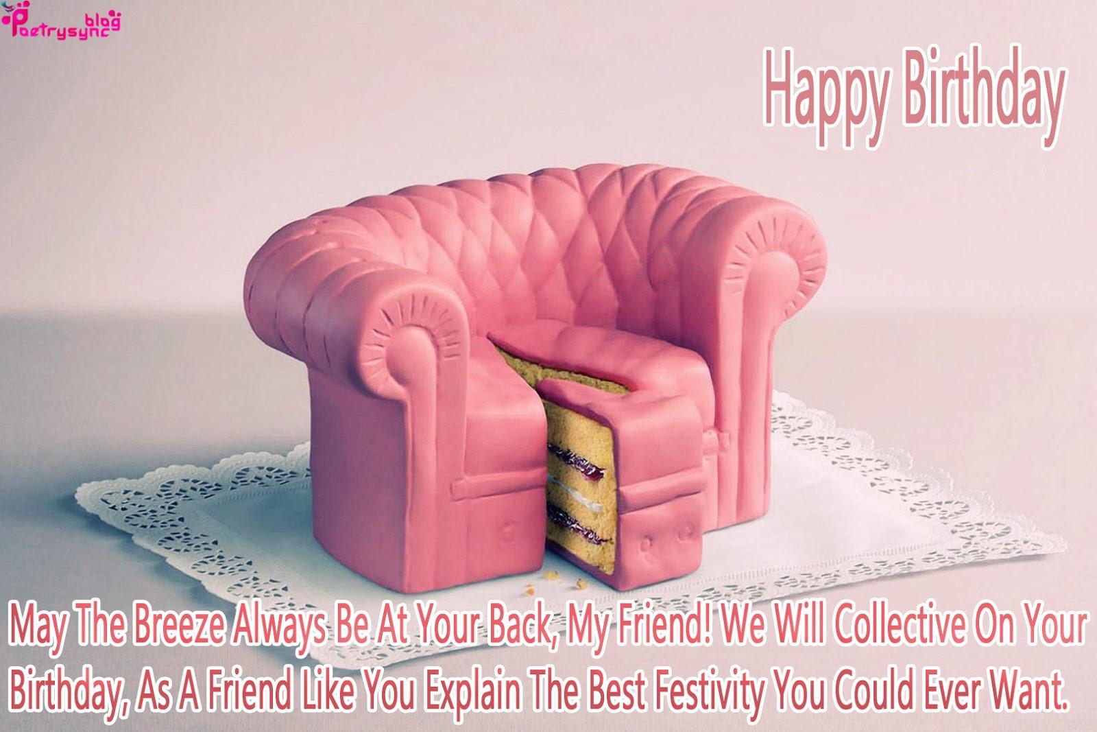 Birthday Cake Images N Quotes ~ Happy birthday cake images with birthday quotes for best friend