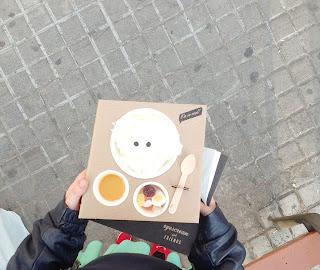 gelateria a barcelona eyescream, ben divertits